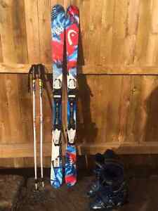 Junior freestyle ski package