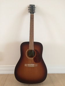 Simon & Patrick Tobacco Sunburst Acoustic Guitar
