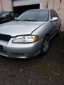 2001 - 2006 nissan sentra PART OUT!!.  5 cars being parted out.