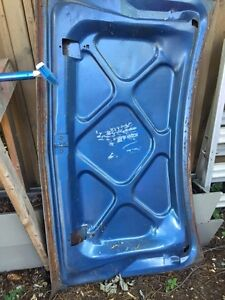 1971 duster 340 truck or deck lid with spoiler slots