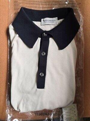 John Smedley Polo T-shirt M New