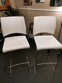 2 x Breakfast Bar Stools/chairs