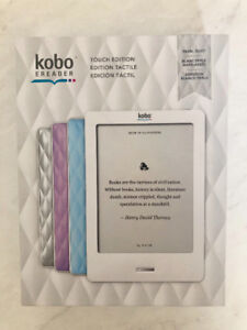 Like new Kobo Touch Edition e-Reader!