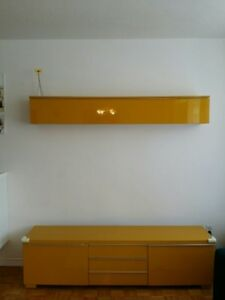 Ikea Besta TV bench and wall storage