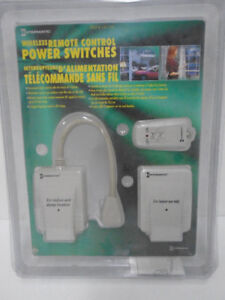 Wireless Remote Control Light Switches