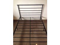 Home Avalon Double Bed Frame -Black