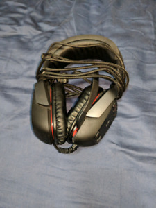 PC gaming pack,headset and webcam