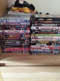 Bundle of 31 DVDs
