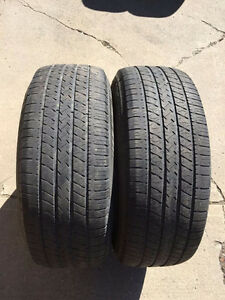 2 Michelin Energy LX4 - 235/65/16 - 60% - $50 For Both