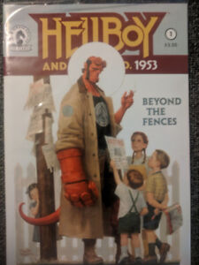 Assortment of comics - Hellboy, X-men, Red Sonja and more.