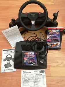 THRUSTMASTER NASCAR PRO WHEEL & NASCAR RACING: 1999 EDITION