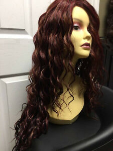 Professional quality synthetic wigs