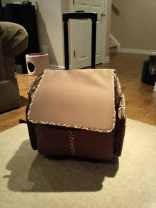 Craft Tote on Wheels