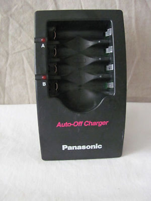 PANASONIC AUTO-OFF AA AAA BATTERY CHARGER MODEL BQ-2F RECHARGEABLE