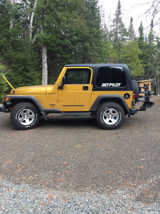 2003 Jeep TJ Sport Mint Condition Never Winter Driven!! LOW KMS