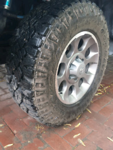Duratrac tire for spare