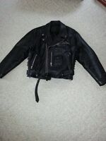 Men's Quilted motorcycle jacket