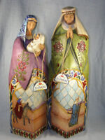 Very Rare 2006 18.5 inch Jim Shore Heartwood Creek Nativity