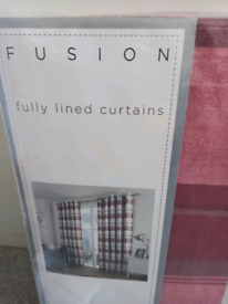 Fully lined new curtains