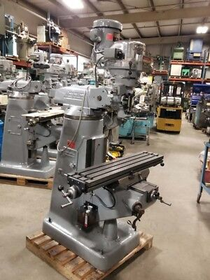 Bridgeport 2hp Variable Speed 42 Inch Table Inv.31150