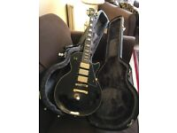 Epiphone Les Paul Custom Black Beauty 3 with its original Hard case: