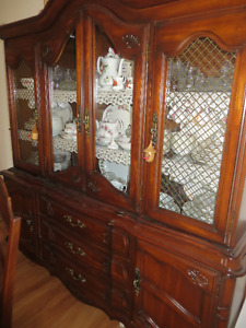 Cherrywood Hutch and Buffet