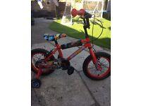 Boys bike 14 inch wheel