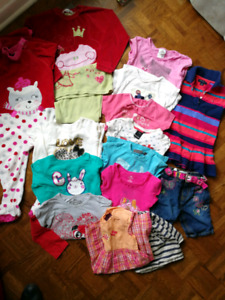 Lot de vêtements fille 3t