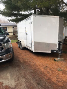Forest River 7' X 14' Dual axel Cargo Trailer