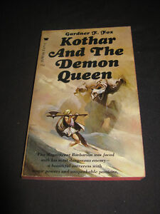 vintage 1969 Kothar and the Demon Queen by Gardner F. Fox PB