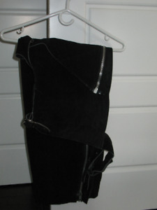 Suede Riding Chaps
