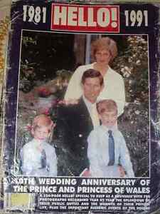 Royal Family Memorabilia --10 Year Anniversary Princess Diana