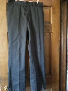 Men's Dickies Work Pants Black - Brand New