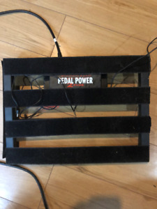 Pedal Board and a Pedal Power 2