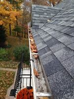 EAVESTROUGH CLEANING AND REPAIRS - protect your eaves