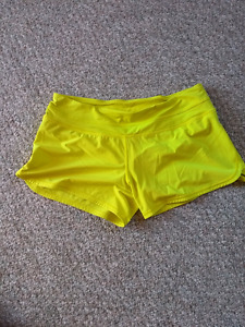 Lulu Lemon yellow shorts