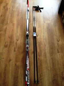 Skate skis kit / Ensemble skis pas de patin
