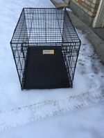 Journey wire dog crate