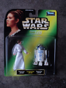 Star Wars 2 figure pack R2-D2 and Princess Leia *NEW IN BOX*