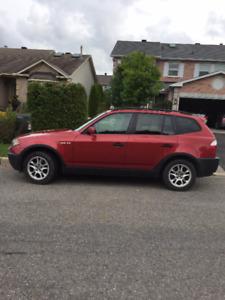 Rare 6-SPEED MANUAL drive 2004 BMW X3 2.5i SUV