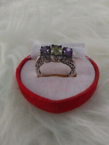 Vintage style sterling silver ring (brand new)