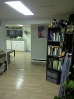 1bdrm In Sunny Basement Suite For Rent