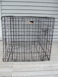 Animal crate 42 inches long x 28 w x 31 inches high $52