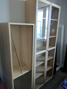 Book shelf and Wall shelf - great condition!