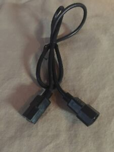 Computer or Monitor power cable extension