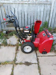 """Craftsman 2 stage, 24"""" 250cc snow blower with electric start"""
