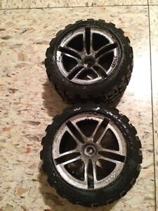 Selling 2 RC Tires and Rims
