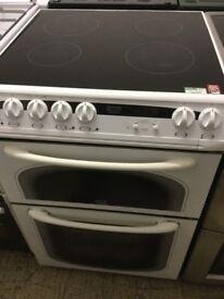 Creda white electric cooker,