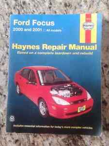 Haynes manual ford focus 2000 2001 manuel entretien