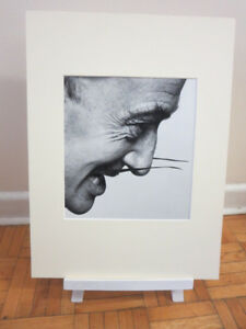Unique Portrait Art Photo Image Artist Salvador Dali - Matted